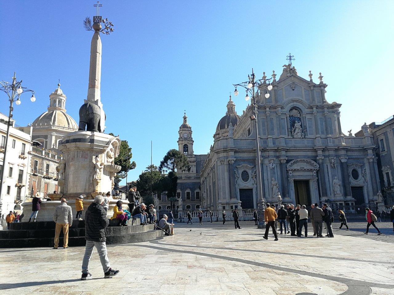 Come andare dall'aeroporto di Catania in centro. Impronte