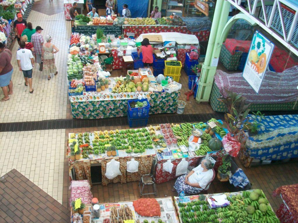 mercati caratteristici Tahiti Polinesia Francese