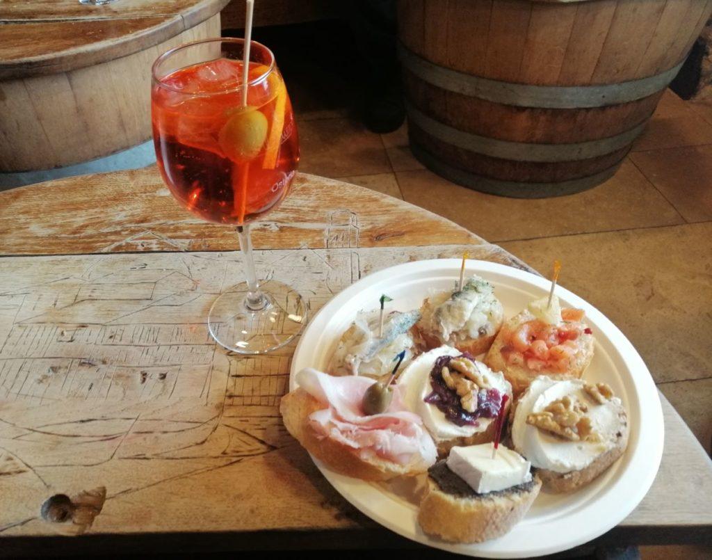 ombre e cicheti cosa mangiare in Friuli Veneto Lombardia