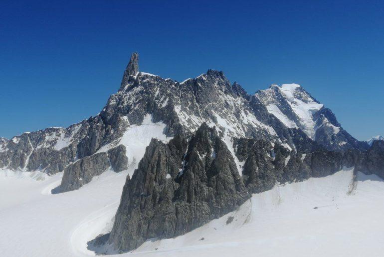 Salire sul Monte Bianco