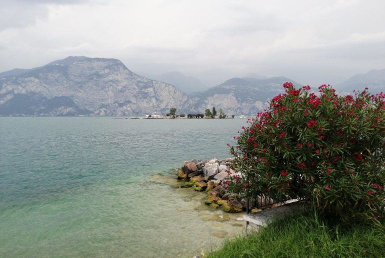 Isola del Trimelone Lago di Garda