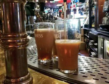 Dublino e una pinta di Guinness